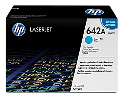 "Hp 642A (Cb401a) Cyan Original Laserjet Toner Cartridge ""Product Category: Imaging Supplies And Accessories/Copier Fax & Laser Printer Supplies"""