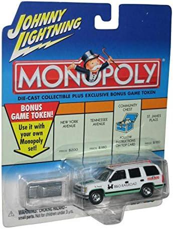 Johnny Lightning 2000 Monopoly B&O Railroad Chevy Tahoe Truck: Amazon.es: Juguetes y juegos
