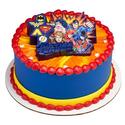 Justice League United Cake Topper -