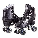 C SEVEN Sparkly Retro Quad Roller Skates