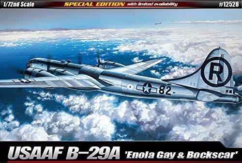 Aca12528 1:72 Academy Usaaf B-29a Superfortress