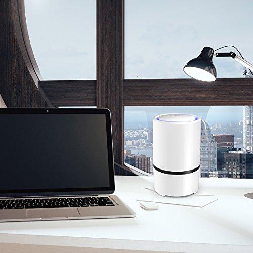 Desktop air purifier usb portable air ionizer small air for Office air purifier amazon