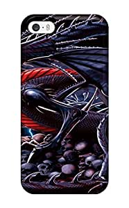 Iphone 5/5s Case, Premium Protective Case With Awesome Look - Evil Dragon by supermalls