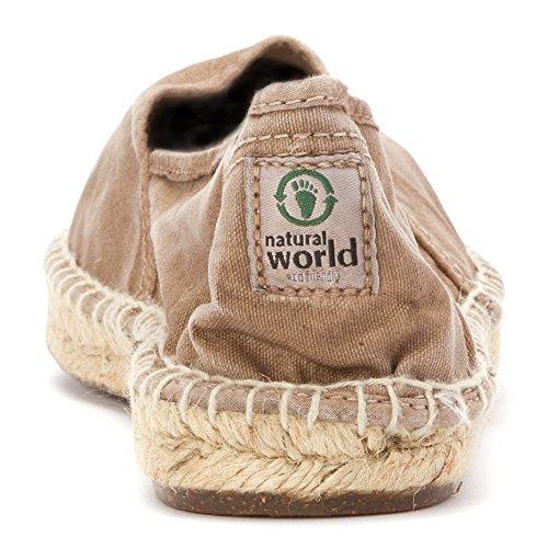 Beige Schuhe Yute Camping World Damen Natural Enz wIqXT4c