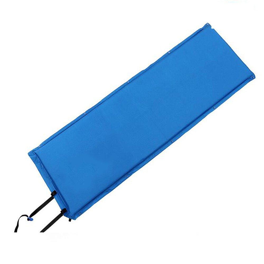XY&CF Imprägniern Sie selbstaufblasende kampierende Rollen-Matte mit aufblasbarer Kissen-Schlafen-Matratze (Farbe : B)