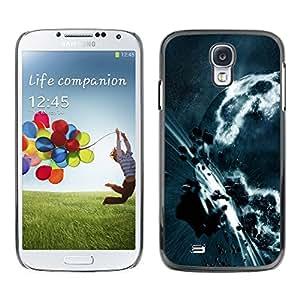 TikTakTok Hartschale Schutzhülle Tasche Hülle für Samsung Galaxy S4 - Weltall Planet Galaxy Sterne 3
