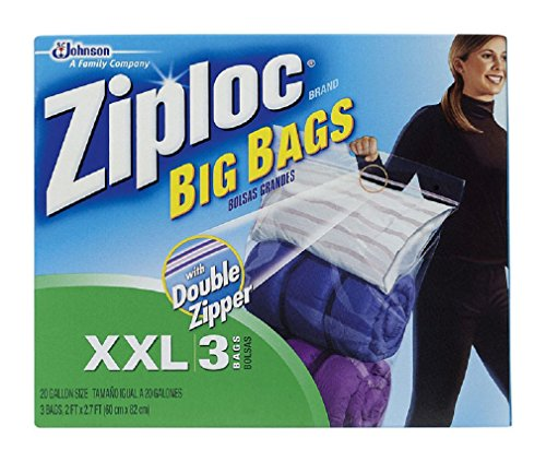 Price comparison product image S C Johnson Wax 71598 3-Pack Extra-Extra Large Big Bags - Quantity 4