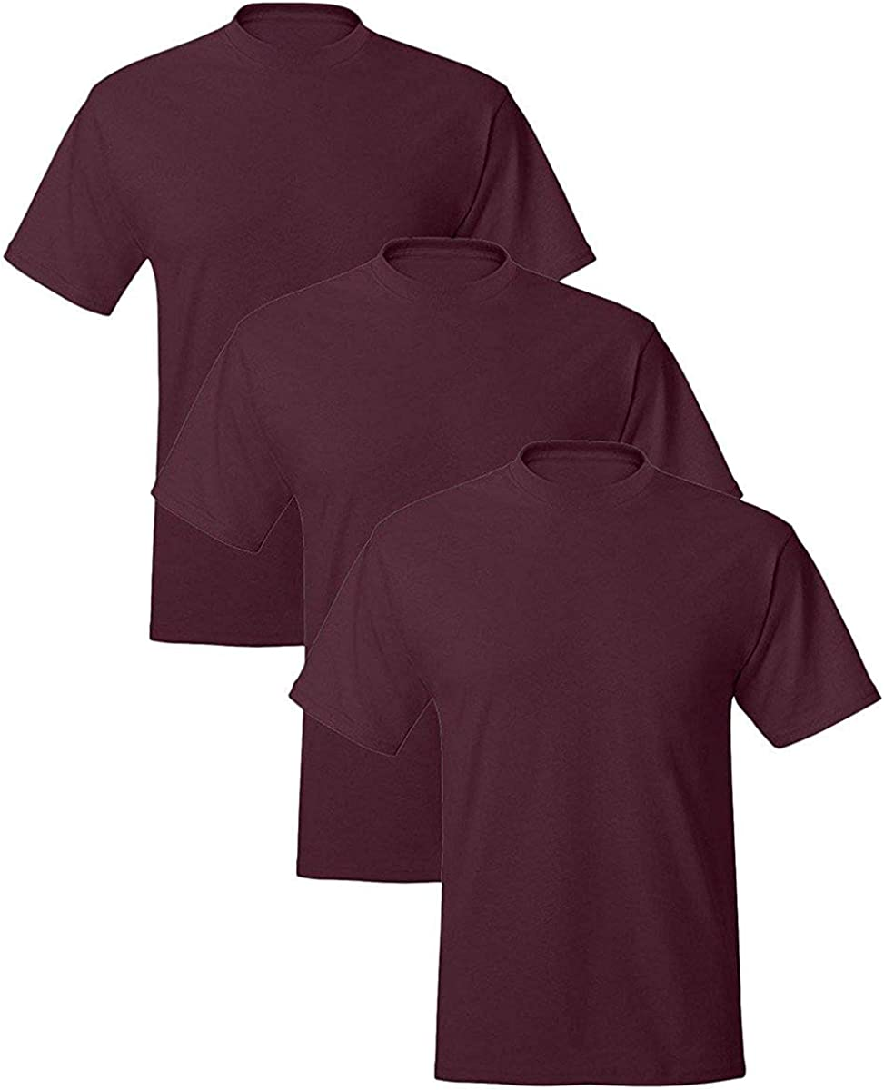 Hanes ComfortBlend EcoSmart Crewneck Men's T-Shirt 3P