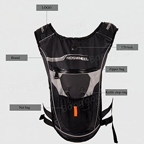 Roswheel Breathable Cycling Bicycle Bike Shoulder Backpack Ultralight Outdoor Ri by Freelance Shop SportingGoods (Image #4)