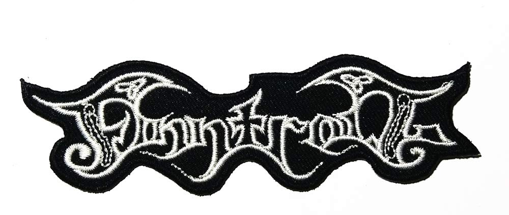 Music F Folk Metal Black Metal Band Music Logo Patch Embroidered Sew Iron On Patches Badge Bags Hat Jeans Shoes T-Shirt Applique