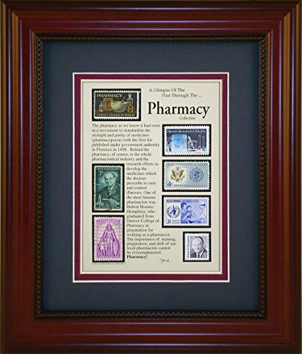 Collectable Framed (Pharmacy - Unique Framed Collectible (A Great Gift Idea))