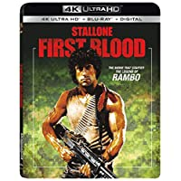 Rambo: First Blood 4K UHD + $5 Off One Atom Ticket to See Rambo: Last Blood