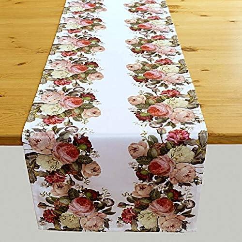 40 x 140 cm Raebel Motivo: Rose Runner da Tavolo
