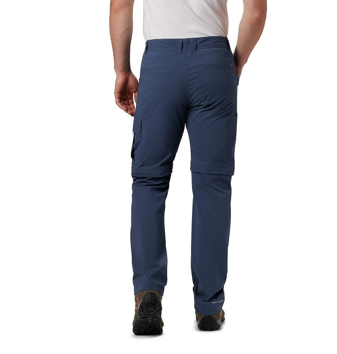 UPF 50 Sun Protection Columbia Mens Silver Ridge Convertible Pant Breathable