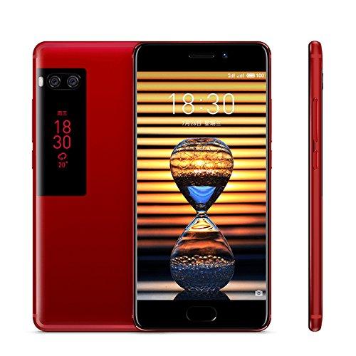 Original Meizu Pro 7 Smartphone 4GB 64GB 5.2'' 19201080 Super AMOLED Screen Octa Core Helio P25 Dual Camera Two-sided Screen (Red) by Meizu