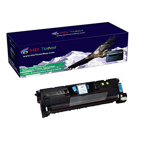 HD Toner TM Compatible 1 Pack Q3961A Cyan Toner Cartridges For HP Color LaserJet 2550 2550L, High Yield 4000 (Q3961a Compatible Toner)