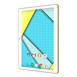 "Plum 10"" Tablet Phablet Smart Phone Unlocked 4g Gsm Android 5.1 Att Tmobile Metropcs Cricket Etc Dual Camera Quad Core Dual Sim - White"