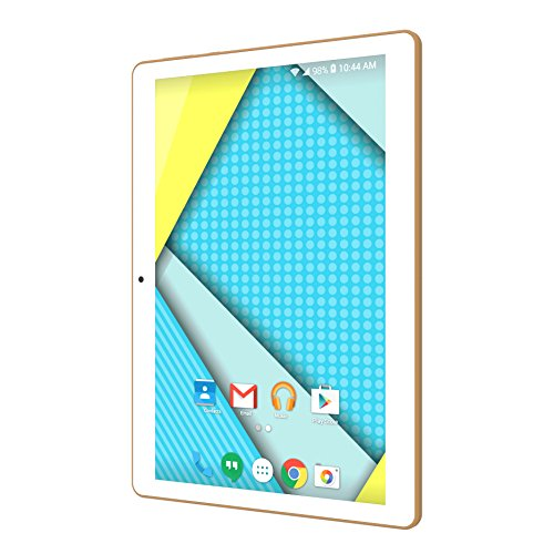 Plum 10' Tablet Phablet Smart Phone Unlocked 4G GSM USA Worldwide Android 5.1 Quad Core Dual Sim - White