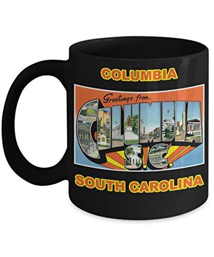 (Columbia South Carolina Postcard Large Letter City Mug)