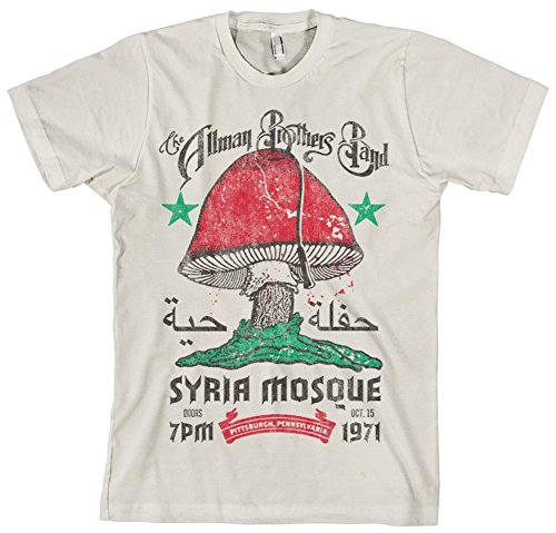 Faded Glory Allman Brothers Band - Syria Mosque T-Shirt S...