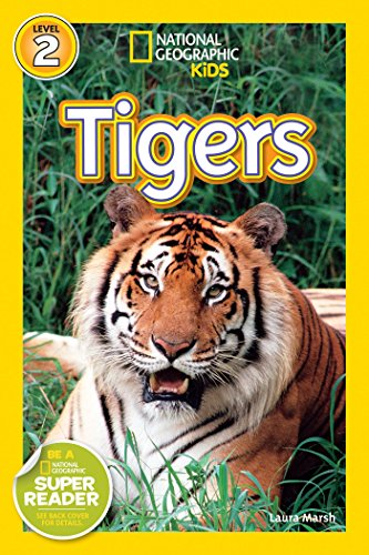 National Geographic Readers: Tigers (Jungle Tiger Stripe)
