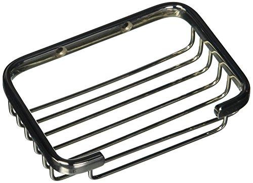 Allied Brass BSK-30SR-PNI Solid Rectangular Shower Basket, Polished Nickel