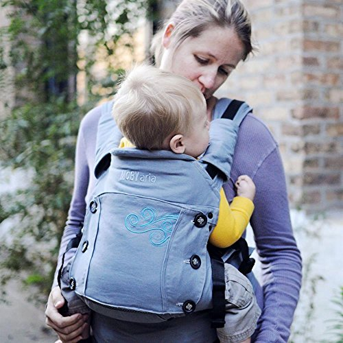 Moby Aria Baby Carrier Grey