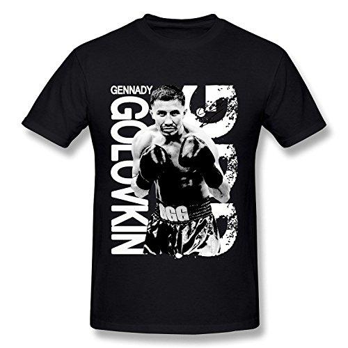 Plusa Htad Mens Gennady Golovkin Ggg Professional Boxer T Shirt Deepheather Xl
