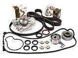 93 honda prelude timing belt - Evergreen TBK187VCT 90-97 Isuzu Honda 2.2L SOHC F22A F22B Timing Belt Kit Valve Cover Gasket Water Pump