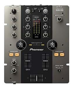 Pioneer DJM-250-K mezclador DJ - Mezclador para DJ (84 Db, 74 Db, 24 Bit, 0.007 %, 7 W, 3.1 kg)
