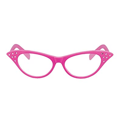 MA ONLINE Gafas de sol - para mujer Rosa Pink Dame Clear ...