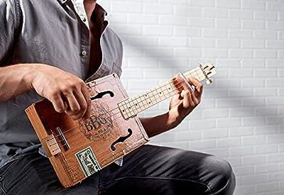 Hinkler. EBB Electric Blues Box Slide Guitar Kit