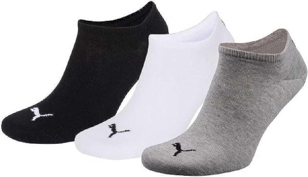 6 pair Puma Sneaker Invisible Socks Unisex Mens /& Ladies In 3 Colours