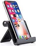 Anker Portable Multi-Angle Stand for Tablets, e-readers and Smartphones, Compatible with iPhone X / 8 / 8 Plus, iPhone, iPad, Samsung Galaxy / Tab, Google Nexus, HTC, LG, Nokia Lumia, OnePlus and More