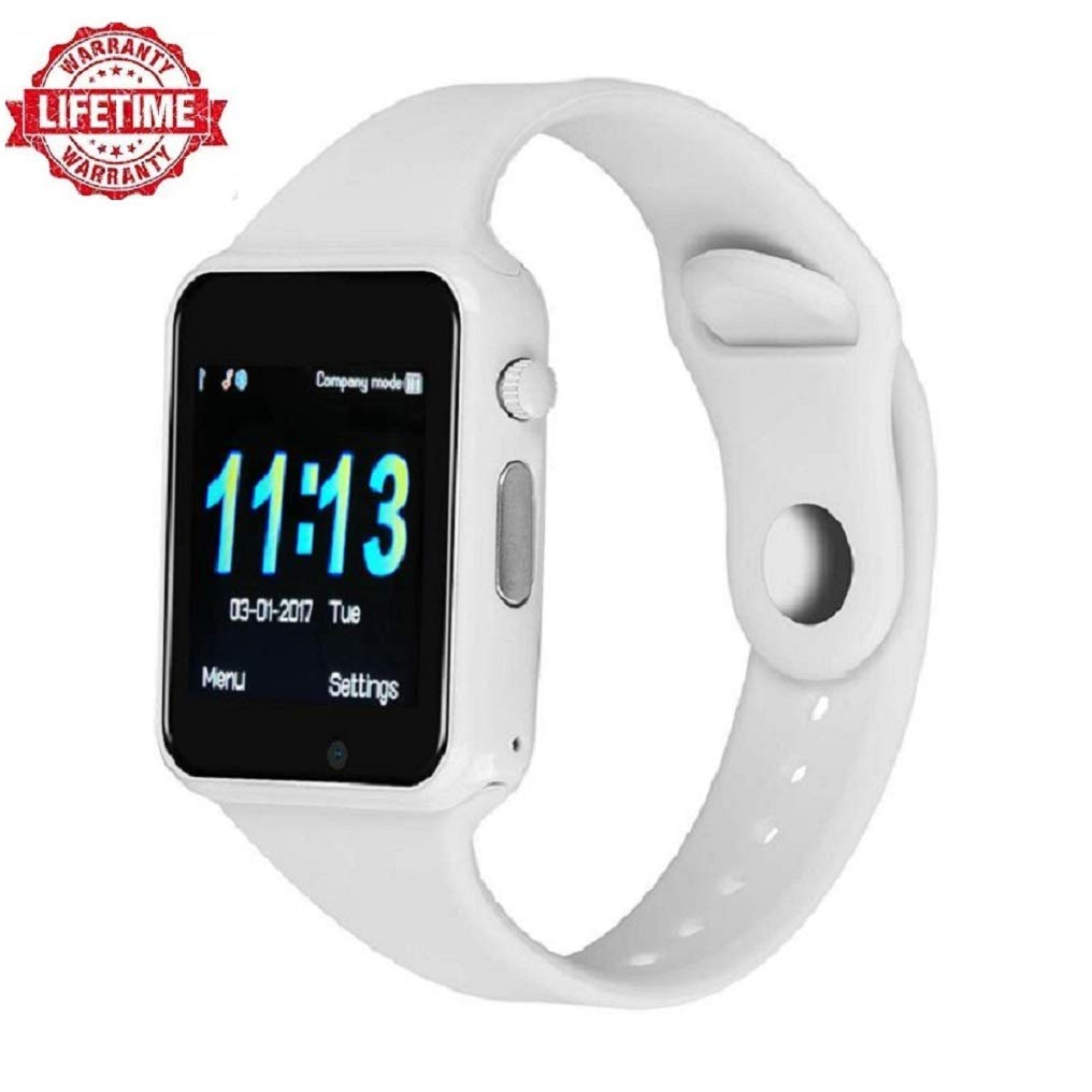 Upgrade 2018,Smart Watch Kkcite Bluetooth Touch Screen SmartWatch Unlock Cell Phone SIM 2G GSM with Camera Sleep Monitor, Push Message, Anti Lost etc ...