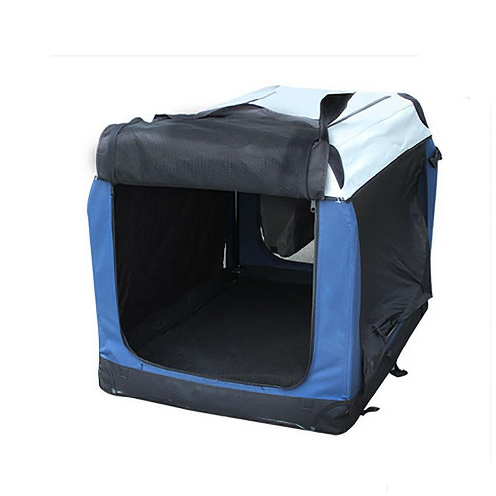 B D&F Crate Soft Sided Pet Carrier, Foldable Portable Soft Pet Crate Training Kennel Great for Indoor or Outdoor