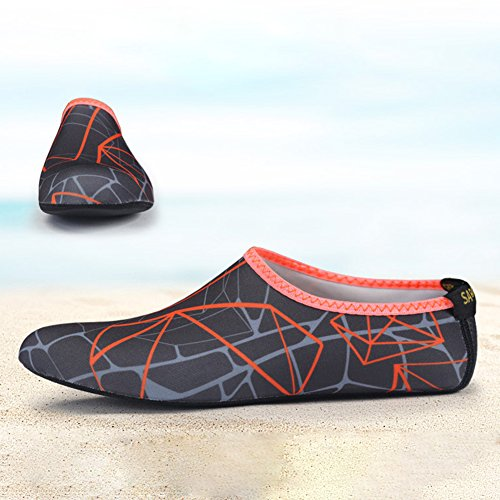 Shoes Beach Water Sports Beach Water Skin ShoesScuba Surf Swimming Barefoot Pool Aerobics Beach Socks Non Shoes Diving Shoes Quick Dry 3 Socks Yoga Shoe Water Surfing Socks Swim Slip Cover vAX5Ewwx
