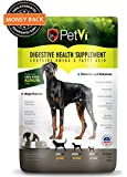 Petvi all natural supplement, stops the itching and scratching, gives your dog a shinier coat, healthier skin, a strong immune system and helps with digestion related problems.