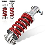 MD Group Rear Suspension Bumper Spring 750LBS/IN Bicycle Shock Absorber Aluminum Alloy