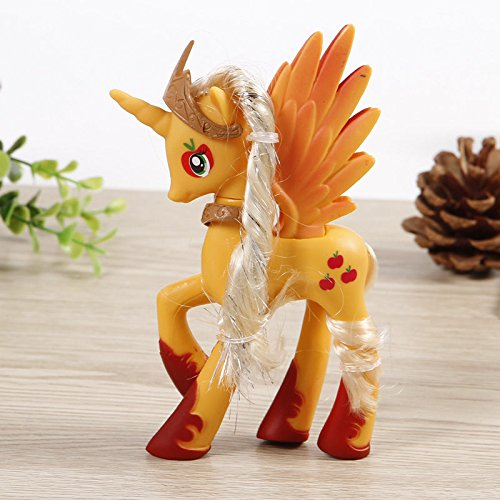 [14cm Princess Apple Jack My Little Pony Doll Action Figure Toy Kids Xmas Gift] (Paradise Costumes Volume)