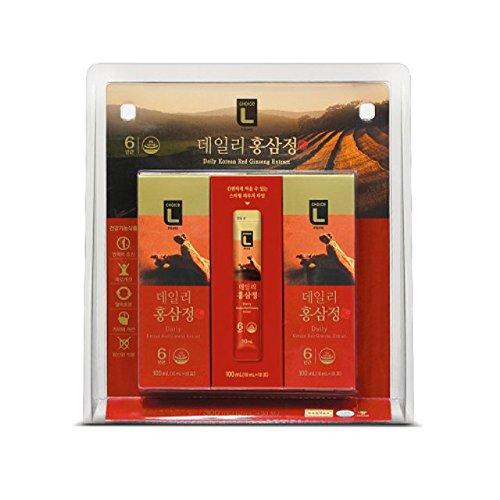 [ロッテマート] Choice L Prime 毎日 紅参精 300ml(10ml×30個入) / 韓国健康機能食品 / 韓国食品 / 韓国健康食品 / 紅参精エブリタイム (海外直送) B077JRW7V6