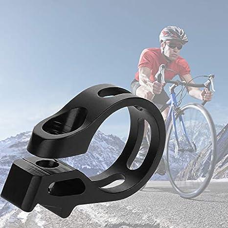 Abrazadera de Cambio de Bicicleta, Conjunto de Abrazadera de Gatillo de Bicicleta de Aleación de Aluminio