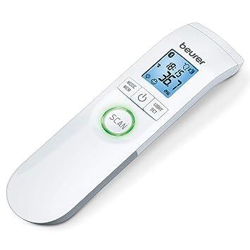 Beurer Ft-95 - Termómetro digital clínico sin contacto con lapiel, Bluetooth, Healthmanager, Babycare, color blanco: Amazon.es: Salud y cuidado personal