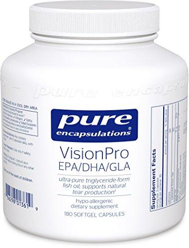 Pure Encapsulations VisionPro Supplement Production