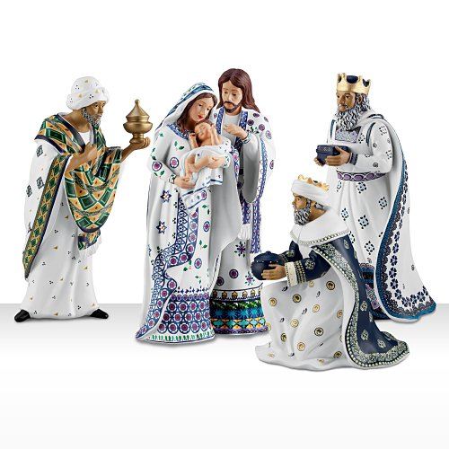 Polish Nativity Set: Silent Night by Hawthorne Village by Hawthorne Village