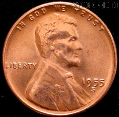 Free 1955-S Lincoln Wheat Cent