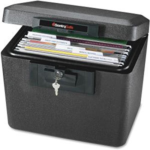 Security Fire File, 15-1/4'x12-1/8'x13-9/16', Black, Black by Sentry Safe
