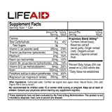 LIFEAID Vitality Blend, Daily Vitamins, Turmeric to