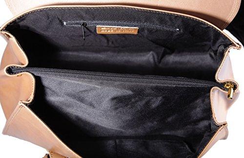 hecha genuino Mujer CTM 100 Mano del en La Italia 37x24x17cm cuero Barro De Classic Bolsa fAPqT8T