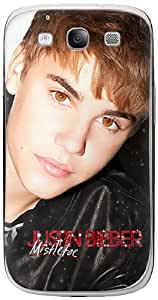 MusicSkins MS-JB260415 Premium Product Skin for Samsung Galaxy S 3 - Non - Retail Packaging - Justin Bieber Mistletoe